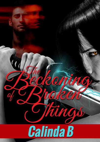 The Beckoning of Broken Things, a sexy, supernatural romantic suspense novel.